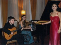 Recital at the Italian Ambassador