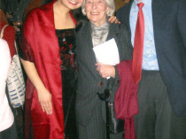With Eva and Peter Roth after a concert in London