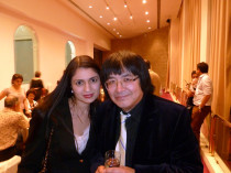 With Marat Bisengaliev in Mumbai