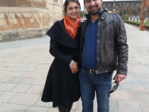 With dearest friend, Gevorg Hakobyan in Armenia 2012