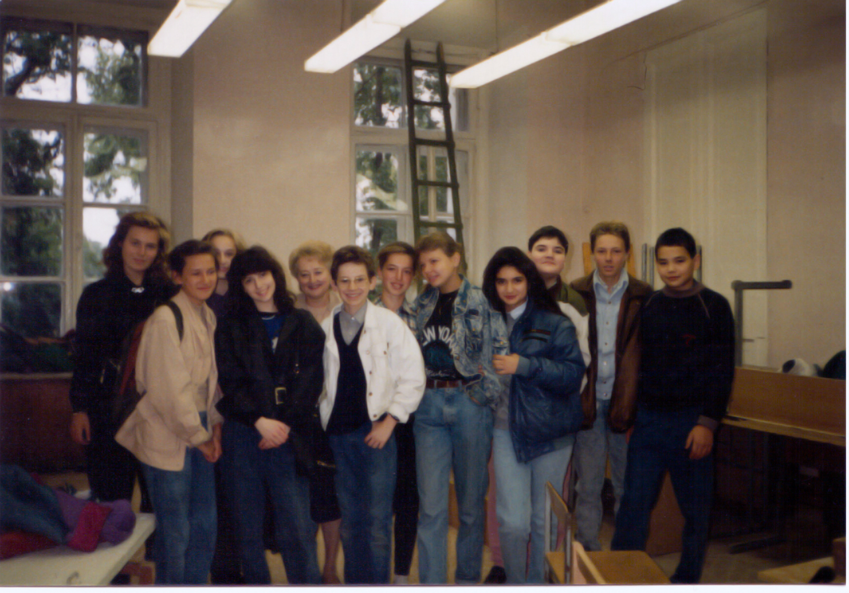 My class at the Gnessin's School of Music, Moscow (RE-SCAN!)